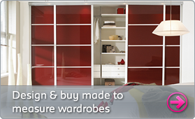 Design and buy made to measure wardrobes