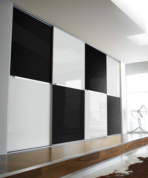 Minimalist Soft Close Standard Size Sliding Wardrobe Doors