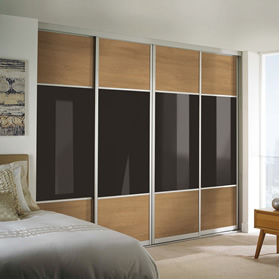 made to measure sliding wardrobe door design tool. Black Bedroom Furniture Sets. Home Design Ideas