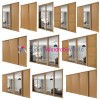 Oak 'SHAKER' Sliding Wardrobe Door Kits (All size & design options)