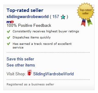 sliding wardrobe doors ebay top rated sliding wardrobe world