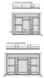 To Estimate An Approximate Individual Door Width Take The Finished Opening System Ie Actual Or Intended After Any Framework Has Been