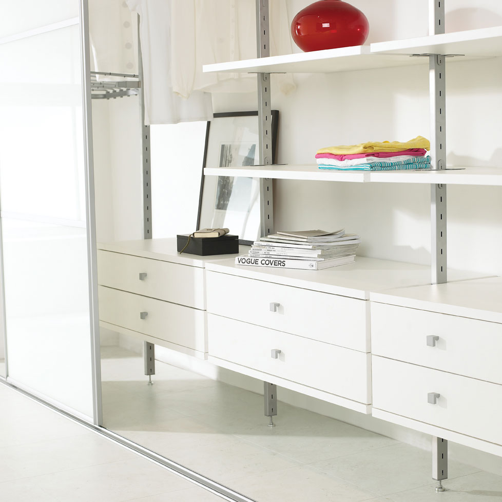 Aura Wardrobe Interior White