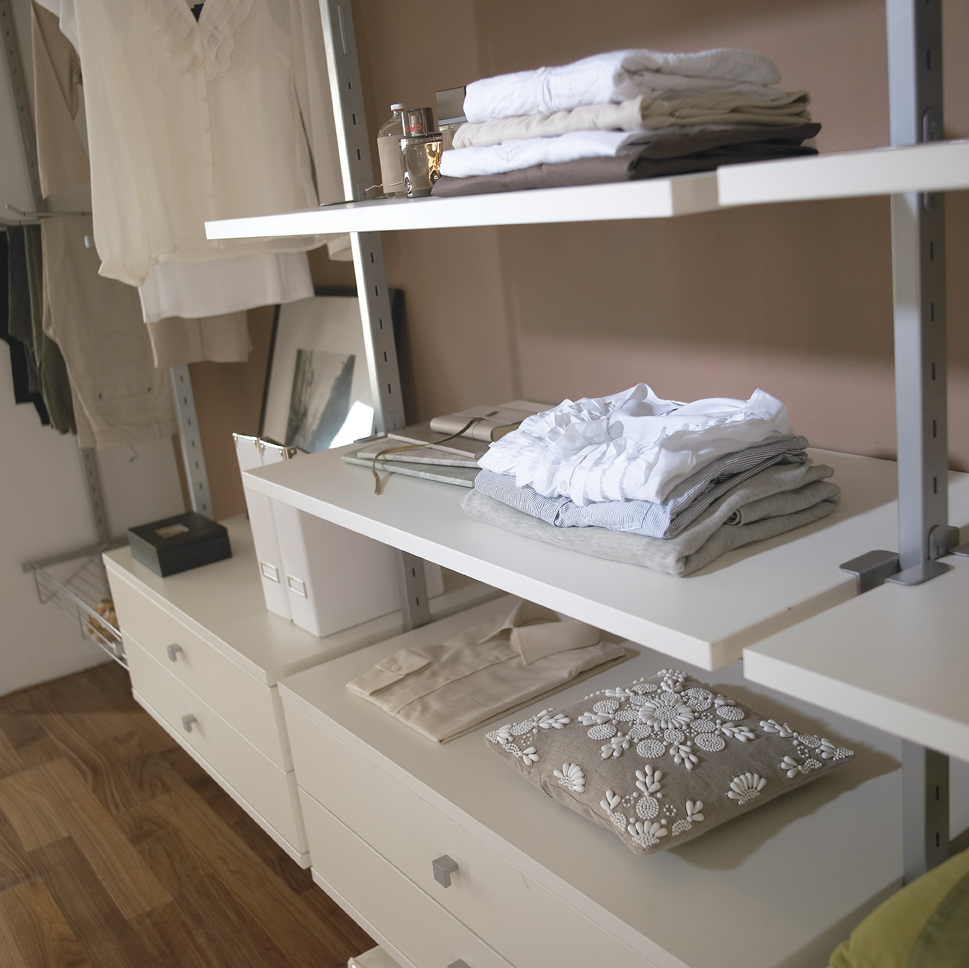 White Aura Wardrobe Interior Detail Shot