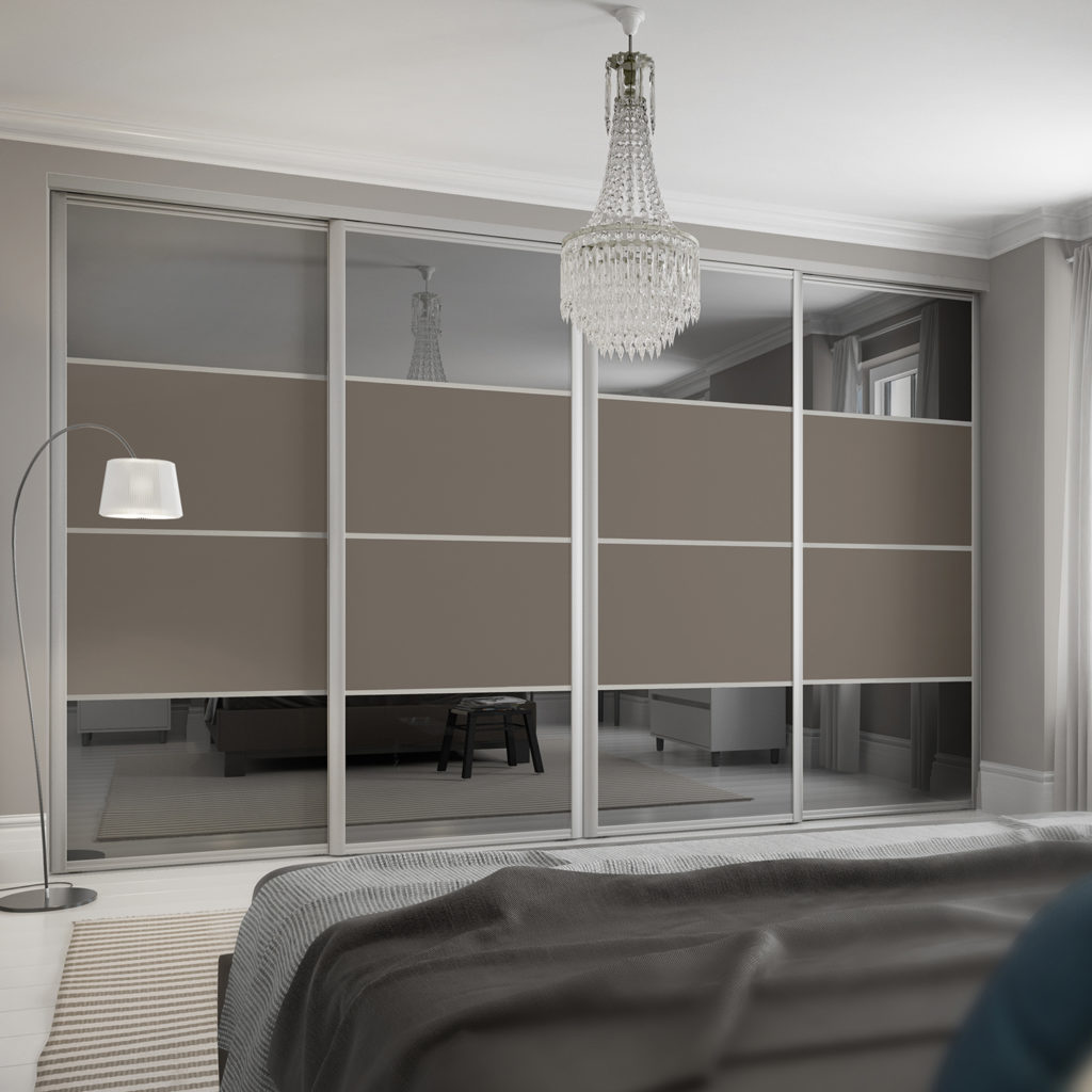 Maxima Ellipse Sliding Wardrobe Doors
