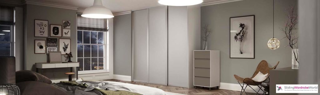 Shaker full bedroom set - Cashmere frame with cashmere panel