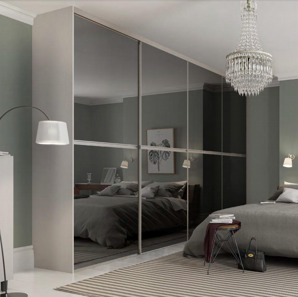 Minimalist Standard Size Sliding Wardrobe Door Design Tool